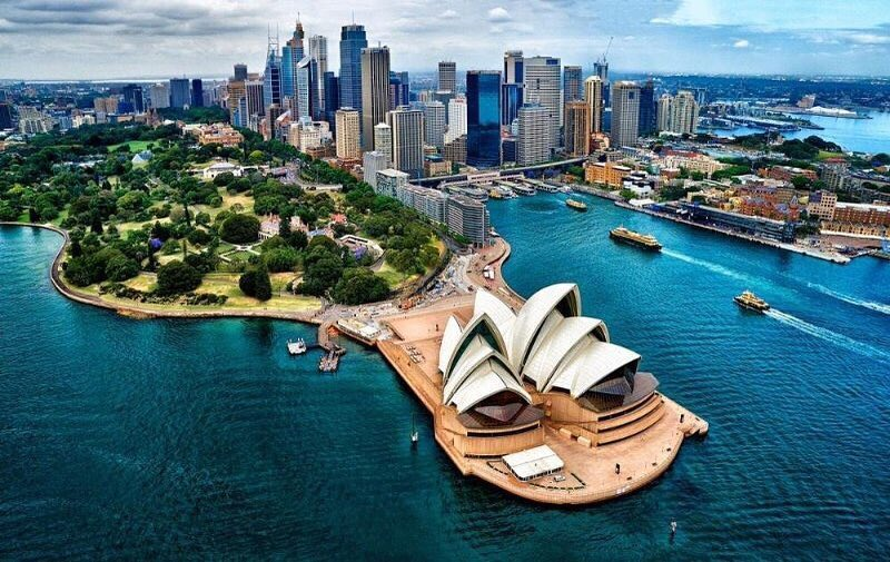 As if you wouldn't want to work in Sydney ...
