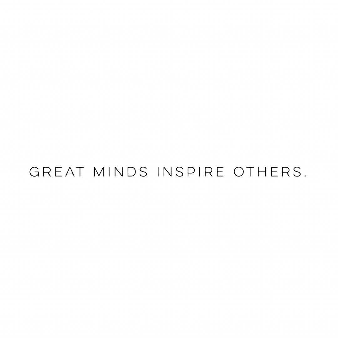 Keep doing your thing, you never know who you're inspiring