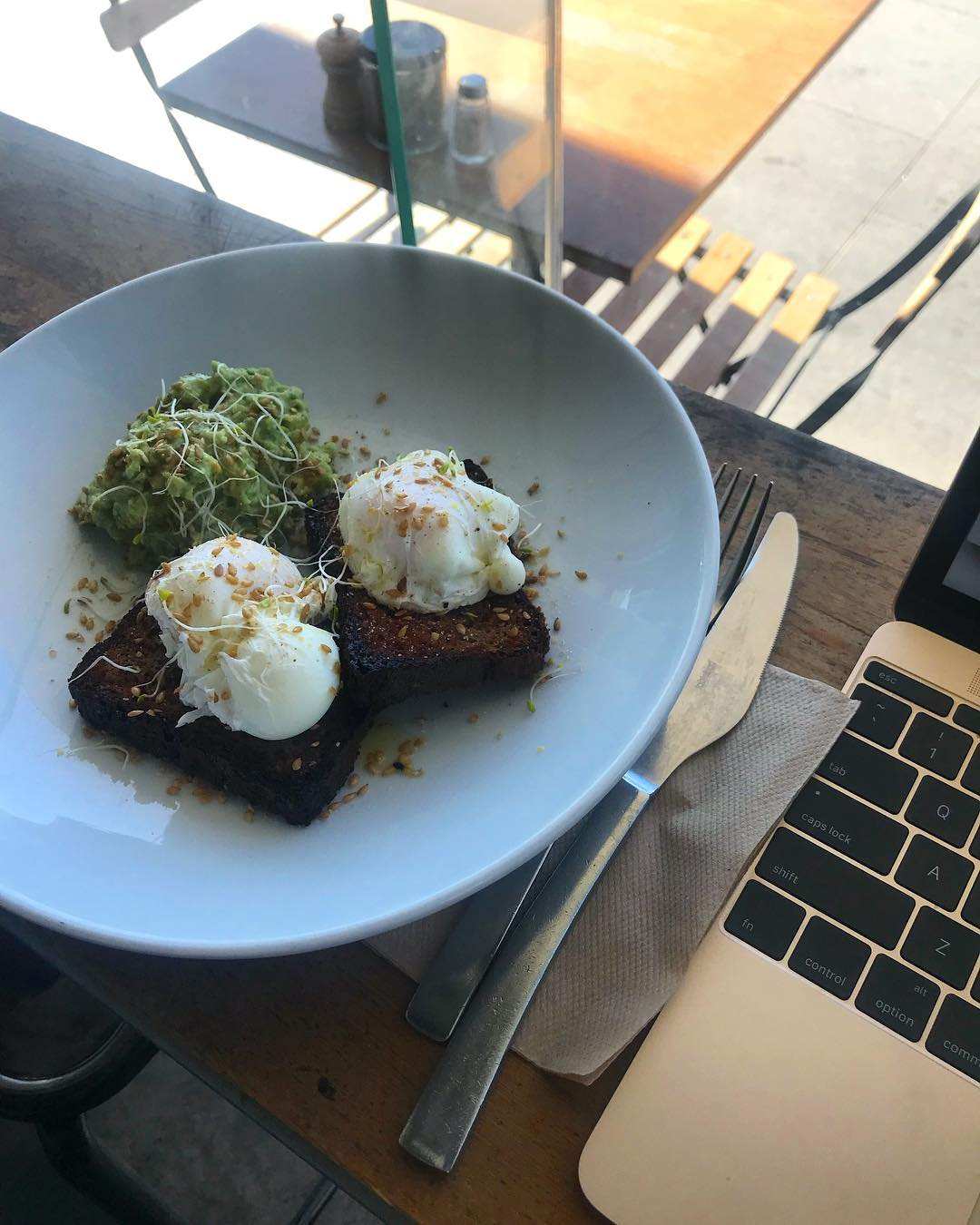 Sometimes you just need to get out of the office and work from a cafe