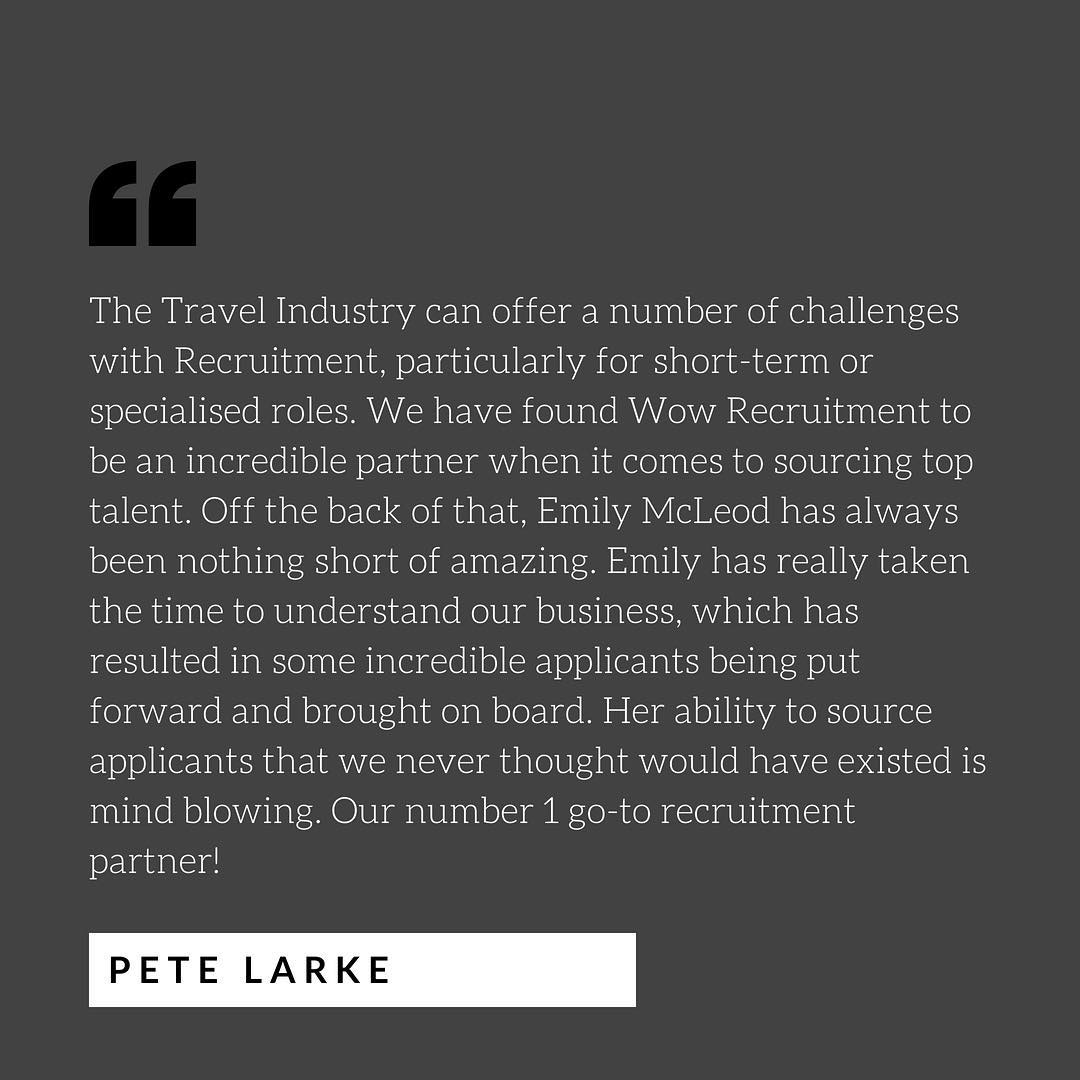 An amazing way to end the week with kind words from one of our favourite clients and a great reminder of WHY we do what we do! ️ #recruitment #recruiterlife #startup #jobs #career