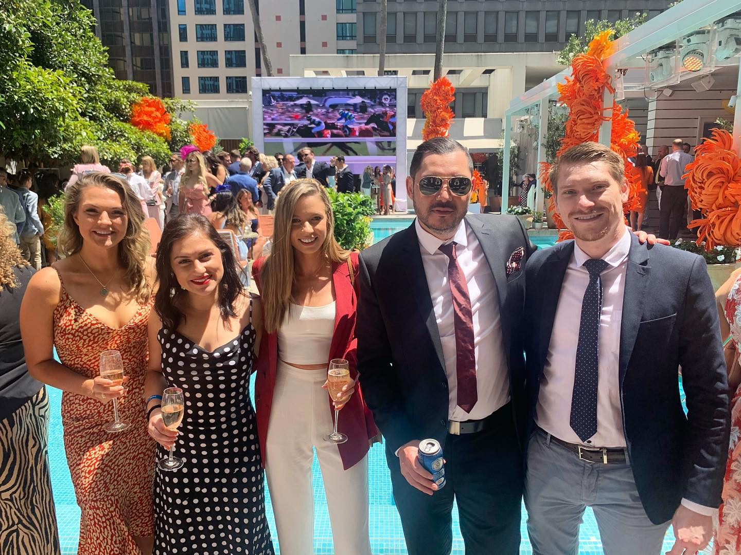 The Wow team enjoyed an afternoon at the Ivy for Melbourne Cup  �