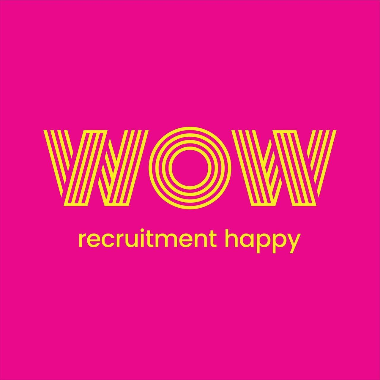 We're not your average recruitment firm at WOW Recruitment ... Everything we do is about making everyone happier about recruitment. Whether that be clients, candidates or our own consultants the way we do what we do just makes them all happy. And that's a bit different to what usually happens. So, it's important to us that we don't look like everyone else. We have taken the time to create a unique brand and look and feel that helps ensure we always stand out... Completely new website and new brand launch coming soon!! #recruitmenthappy #workhappy #hiregreat #dowhatyoulove