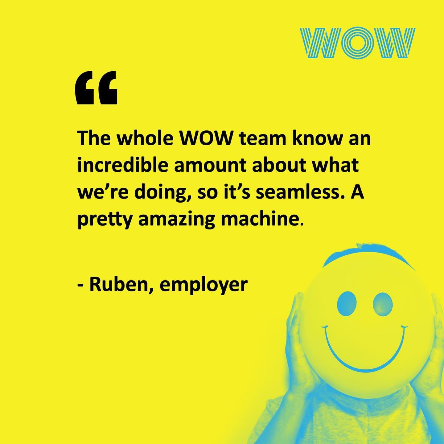 Here's what our client has to say about working with us... Happy Friday!!! #RecruitmentHappy #WorkHappy #DoWhatYouLove #WOW