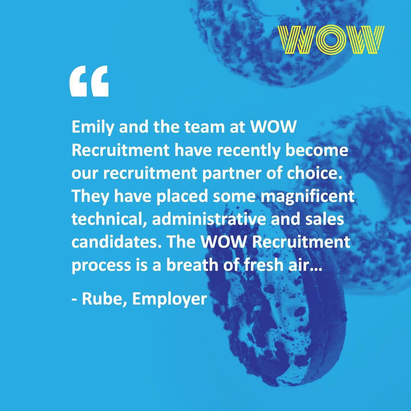 Here's what one of our newest clients has to say about working with us!