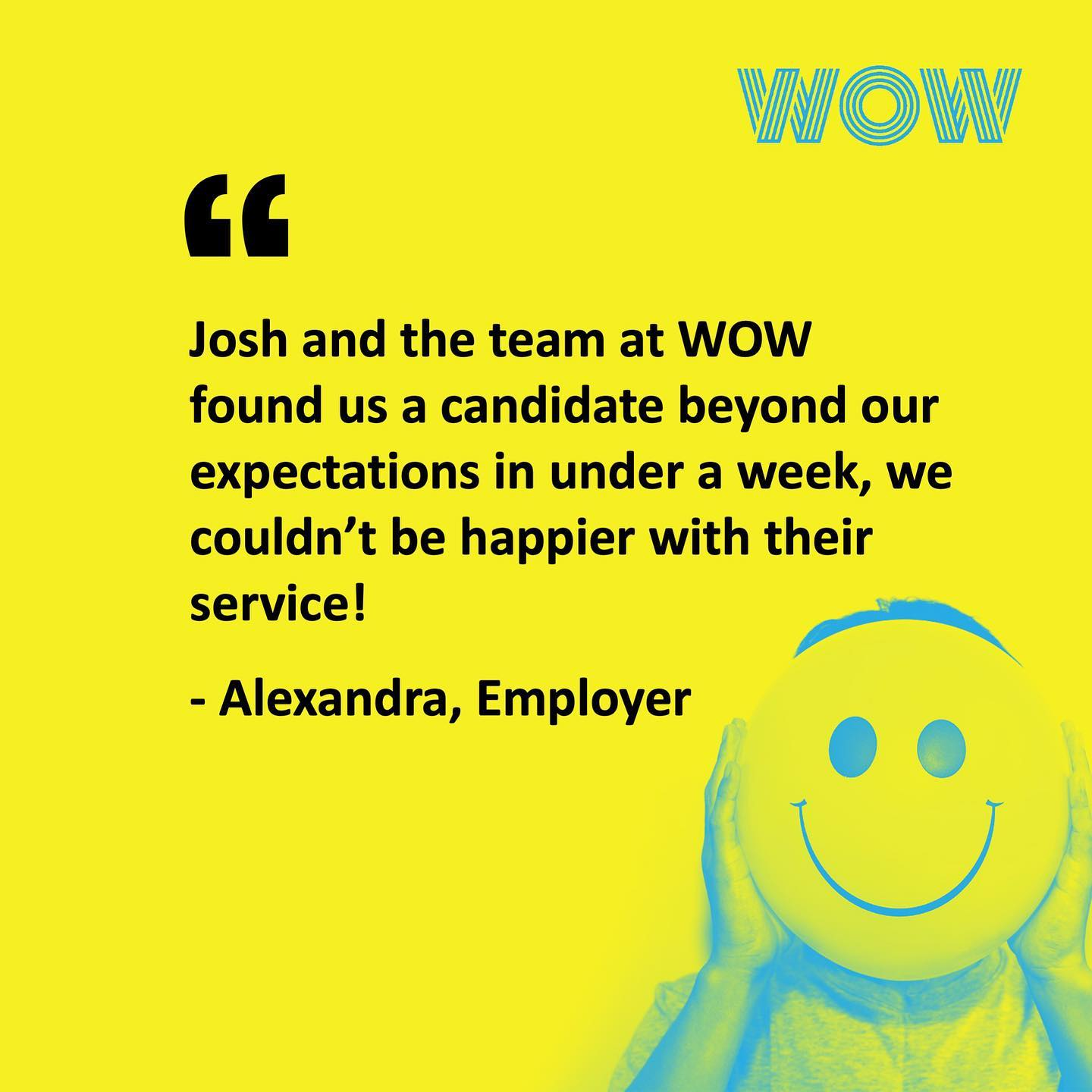 Well done Josh! A very happy client indeed