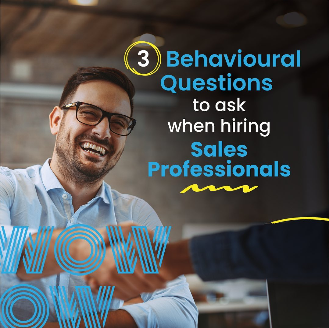 Hiring great salespeople is how you grow, how you drive the business forward and how you enrich your organisation with fresh perspectives. Identify the best of the best with these simple yet revealing interview questions. #HireGreat