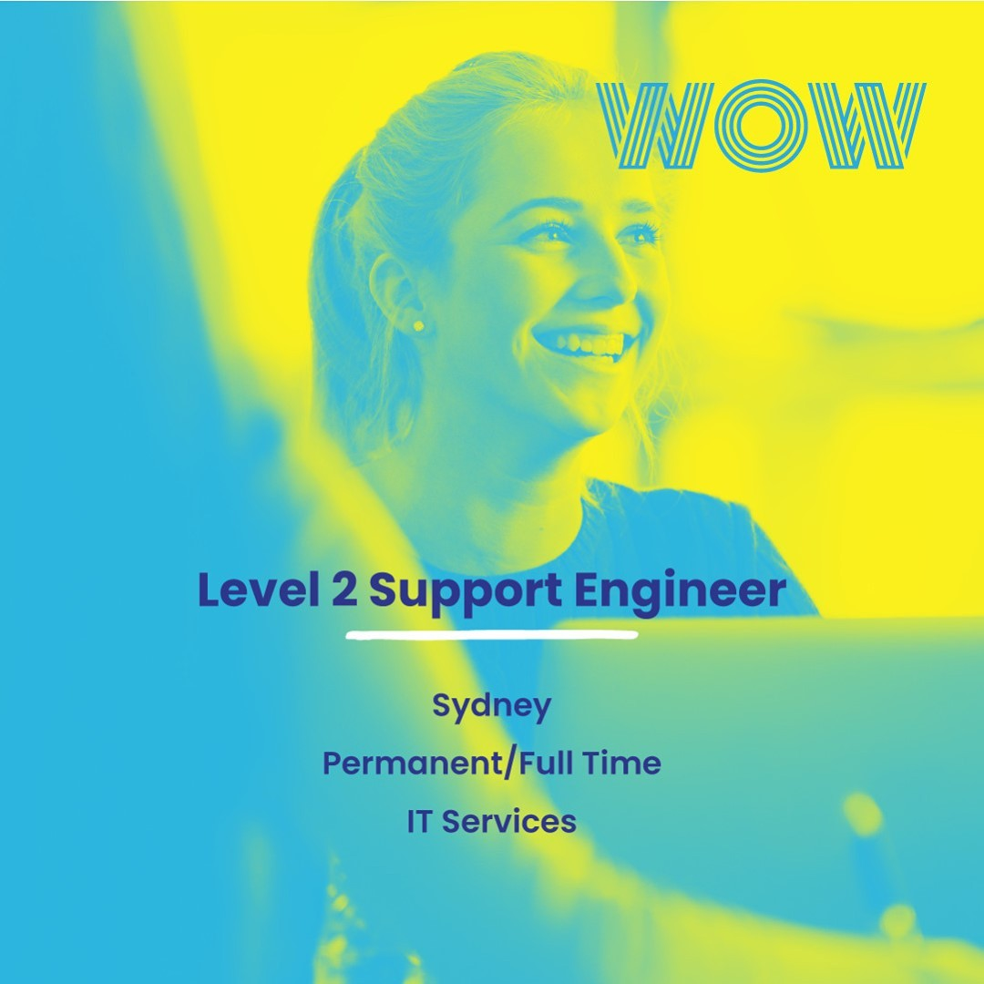 Here's a stellar opportunity to work with the best of the best in this rapidly expanding, Sydney-based MSP. Immerse yourself in their fantastic work culture as you deliver leading IT solutions while being generously rewarded for your expertise and experience. Sound like a plan? Click here for more info https://wowrecruitment.com.au//job-detail/?id=1135474