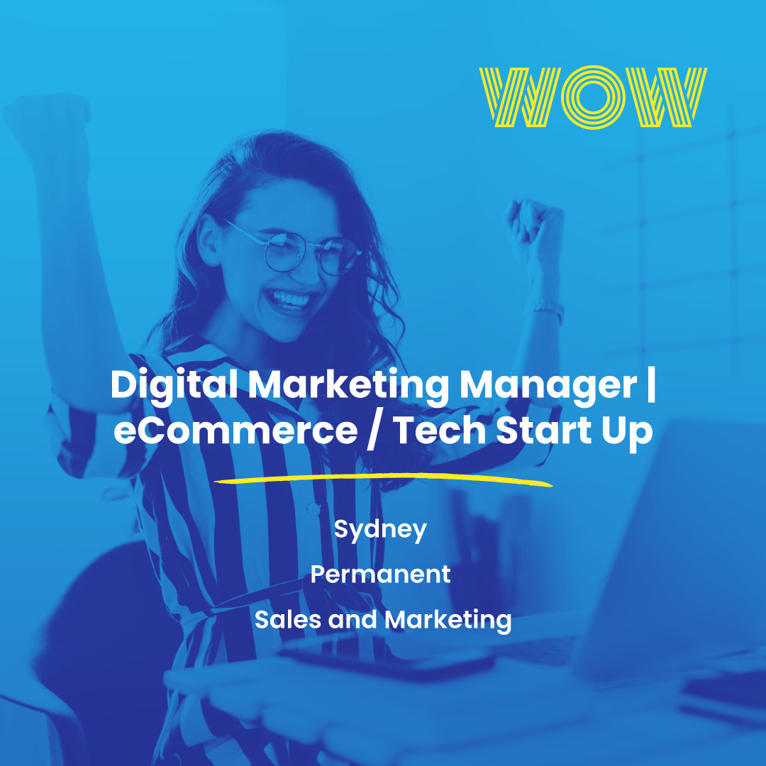 This is a unique opportunity to join a flourishing start-up in the renewable energy sector. Now's your chance to help create a positive impact in the environment as you thrive in a flexible and inclusive office culture where your voice is sure to be heard. Interested? Learn more, here https://wowrecruitment.com.au//job-detail/?id=1155992#WorkHappy #MarketingJobs