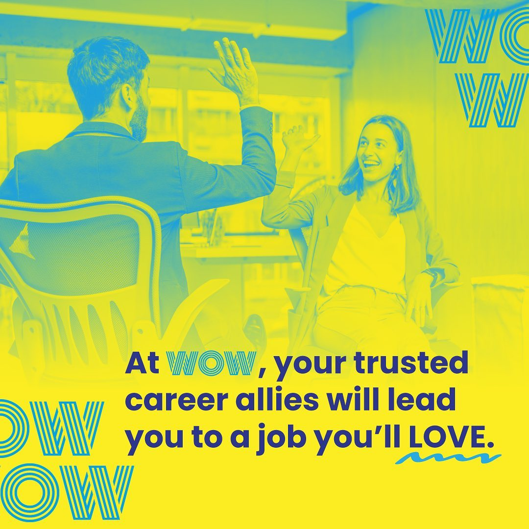 If it's meant to be, we shall make it so.Find work that you'll love, here  https://wowrecruitment.com.au//contact-us-2/