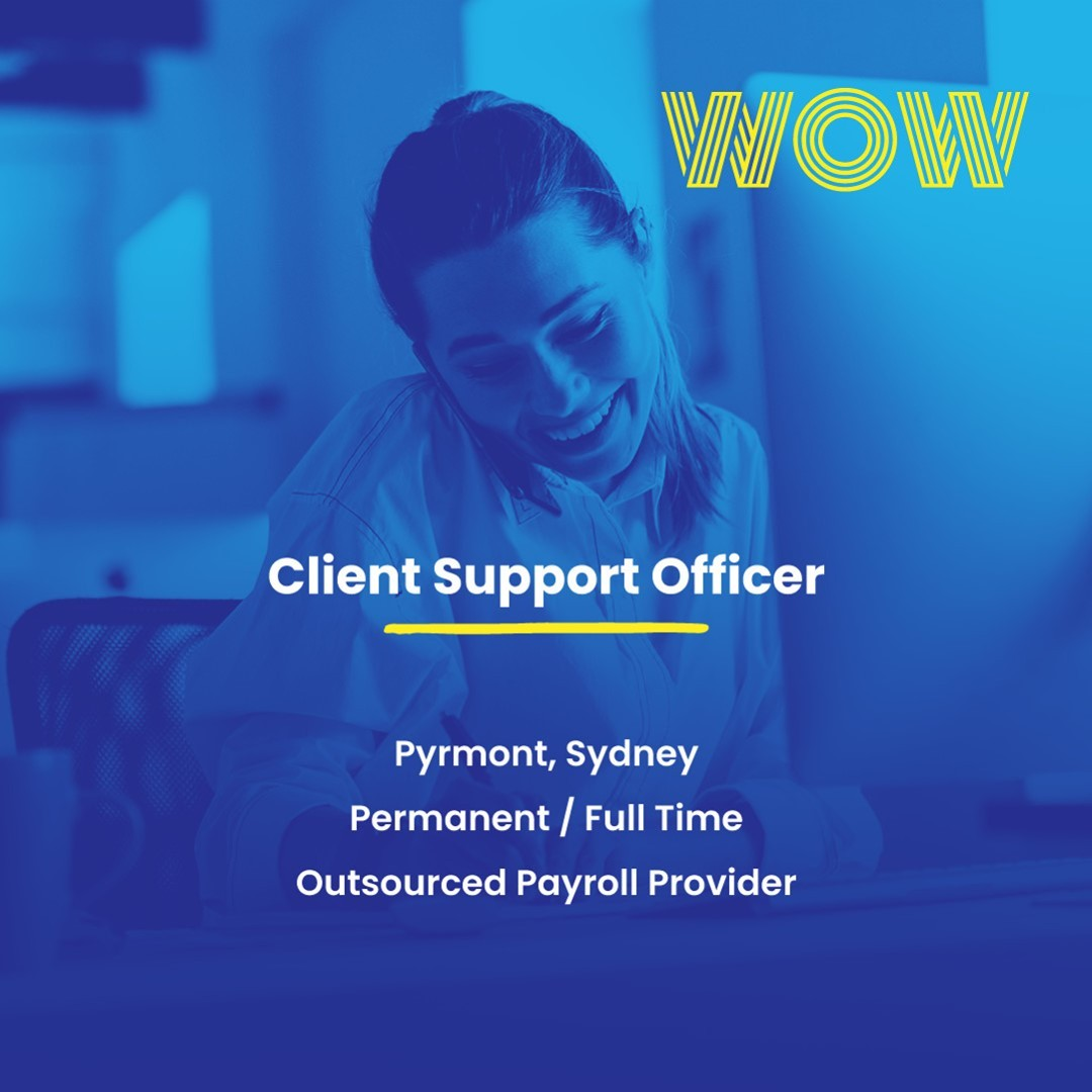 This flourishing Prymont-based company is looking for someone to join their vibrant account management team on a full-time basis. Enjoy flexible work conditions and exciting perks including birthday leave and subsidised gym classes. Click below to find out more https://wowrecruitment.com.au//job-detail/?id=1167484