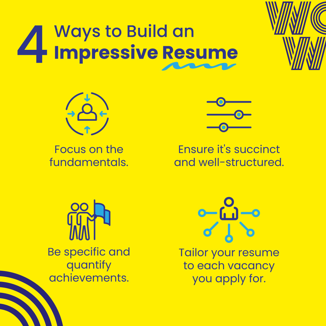 Often how we say something is as important as what we say and the same goes for your resume! Deliver the right information, and do it impactfully with these tips. Check out our blog for more tips   https://wowrecruitment.com.au//tips-for-writing-a-cv-that-gets-you-noticed/#WorkHappy #DoWhatYouLove #RecruitmentHappy