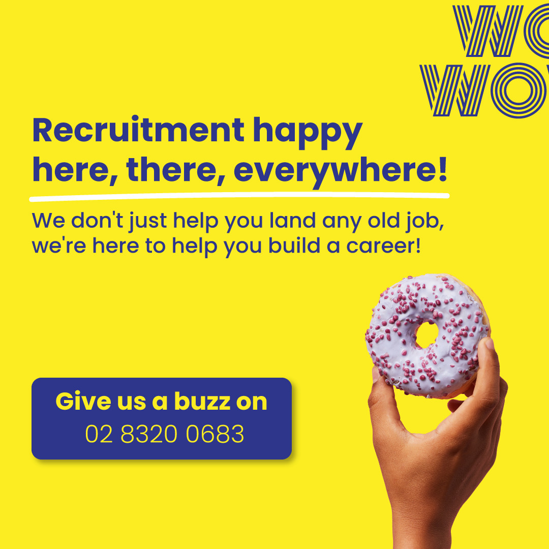 We do what we love and we'd like the same thing for you!Careers (not jobs), for people (not profiles) in... Sales & Account Management Marketing & Digital Customer Service Technology Business Services RetailGet in touch with your friendly neighbourhood WOWzer. Link in bio  #WorkHappy #DoWhatYouLove #RecruitmentHappy