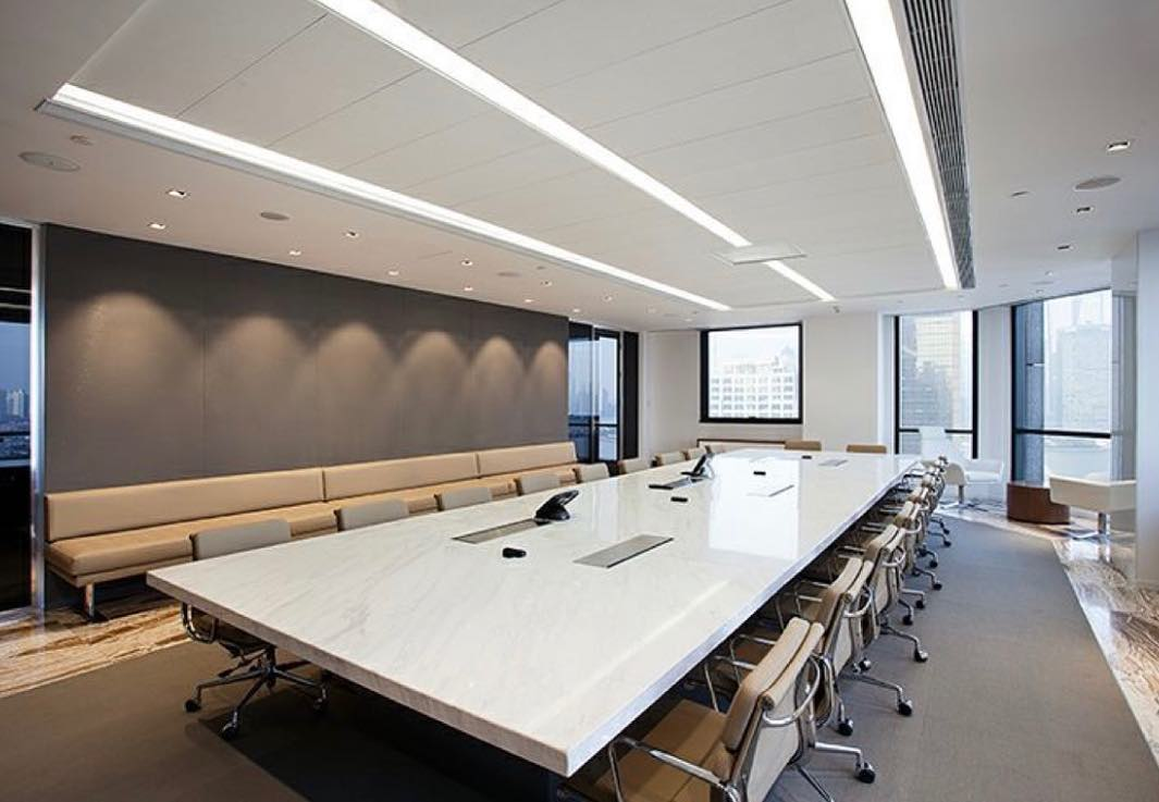 """Quality starts in the boardroom""... and this is a very nice boardroom"