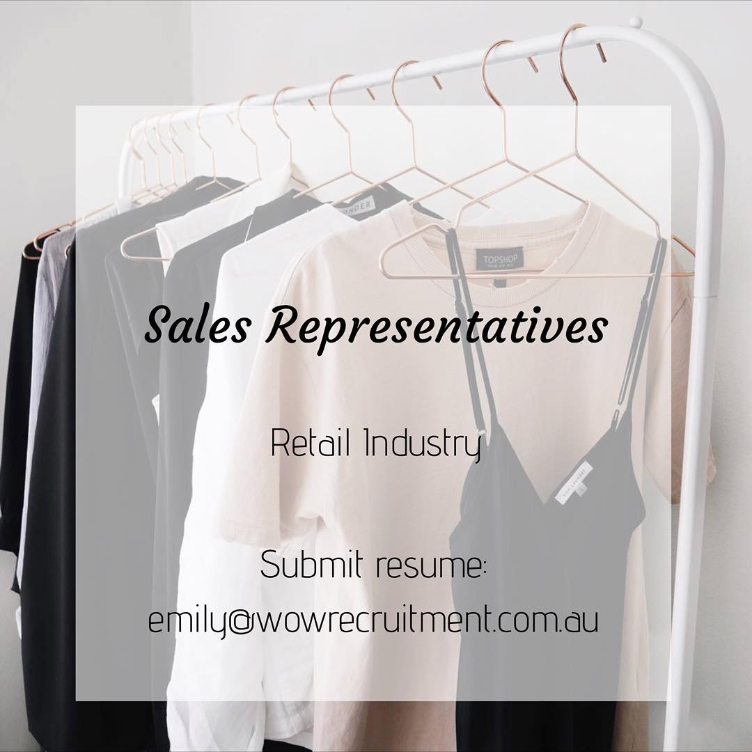 We are currently looking for Face to Face Sales Representatives across Sydney, Brisbane, Melbourne and Perth. If you are from the Retail Industry and looking for a change, please get in contact with us today! www.wowrecruitment.com.au #wowrecruitment #jobs #joblisting #opportunity #recruiterlife