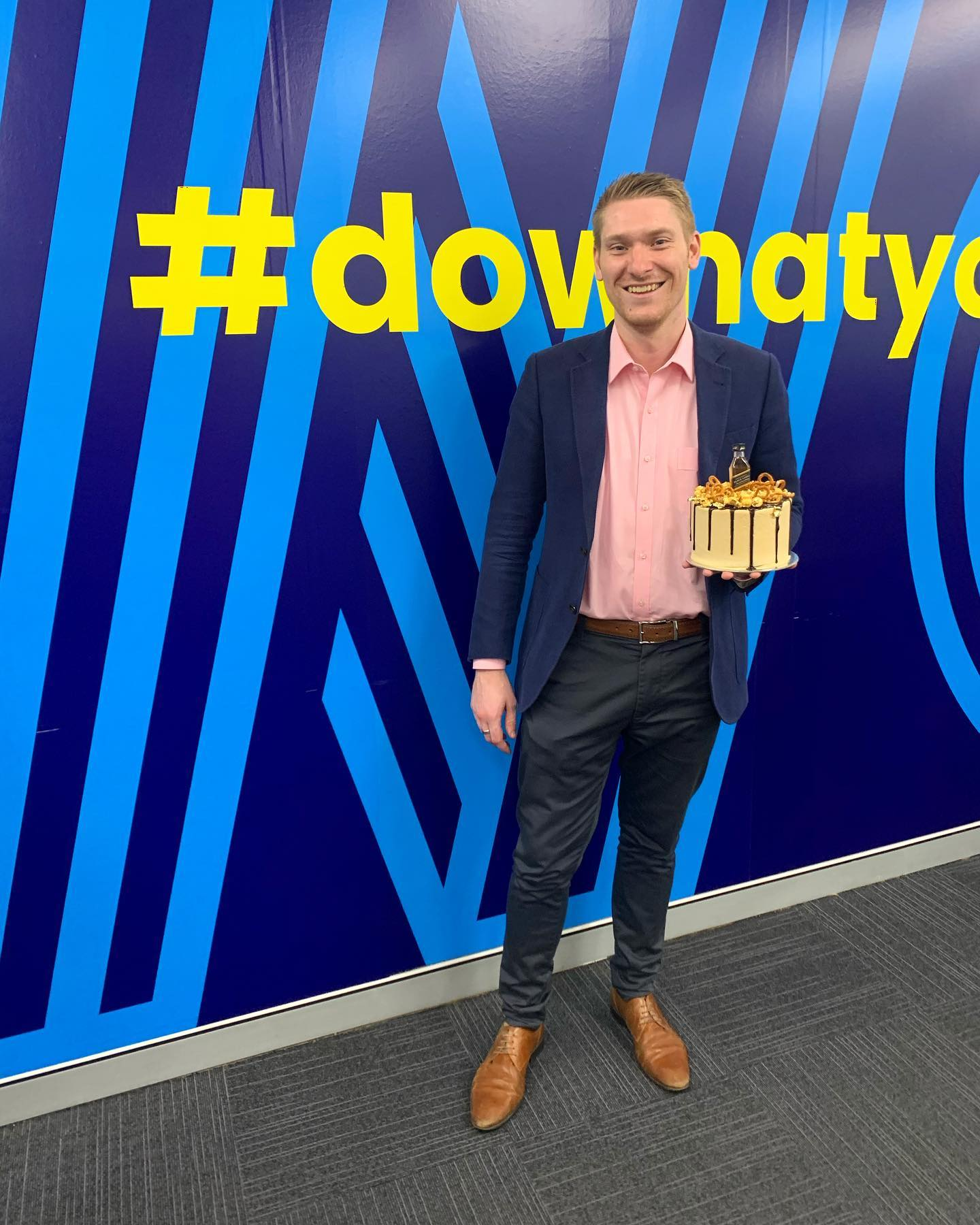 Happy Birthday Matt! Here's to another successful year 🙂 #dowhatyoulove #workhappy #recruitmenthappy #birthday #wowrecruitment