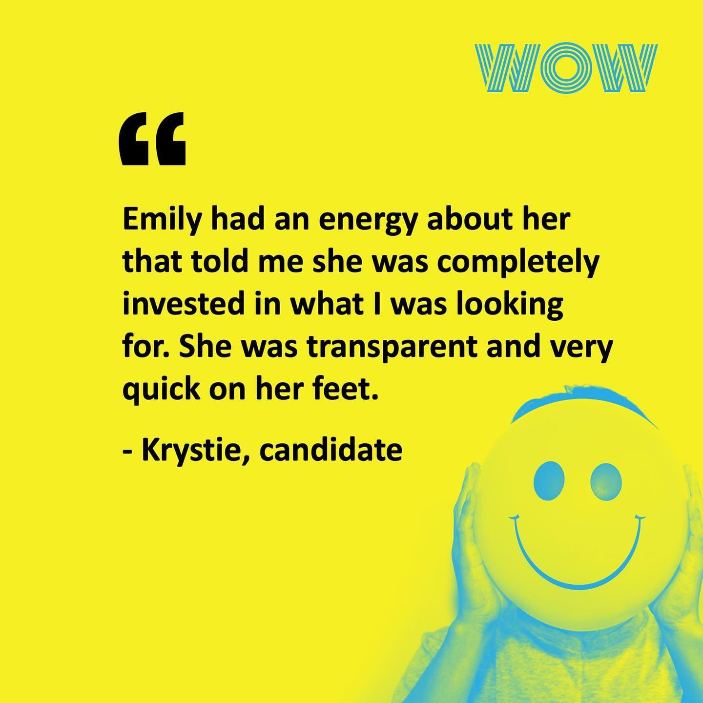 Here's what our candidates have to say!