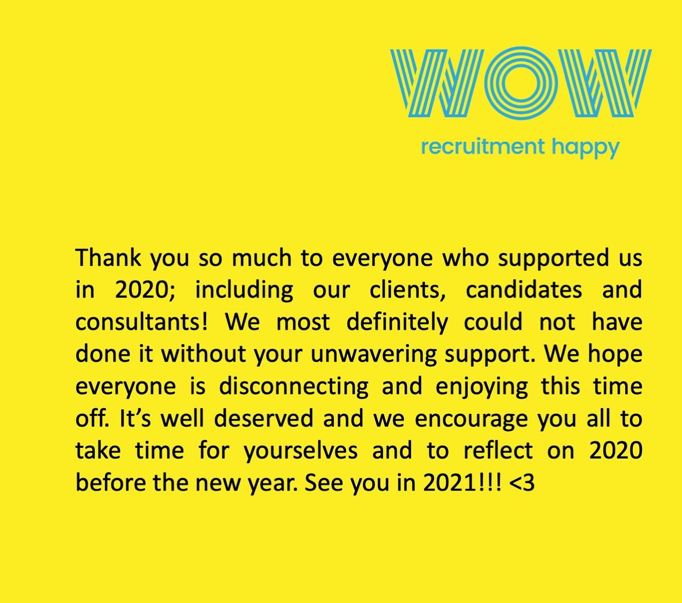 Thank you  We're truely grateful and can't wait to see what 2021 has in store for you all! Looking forward to continuing the journey with you!