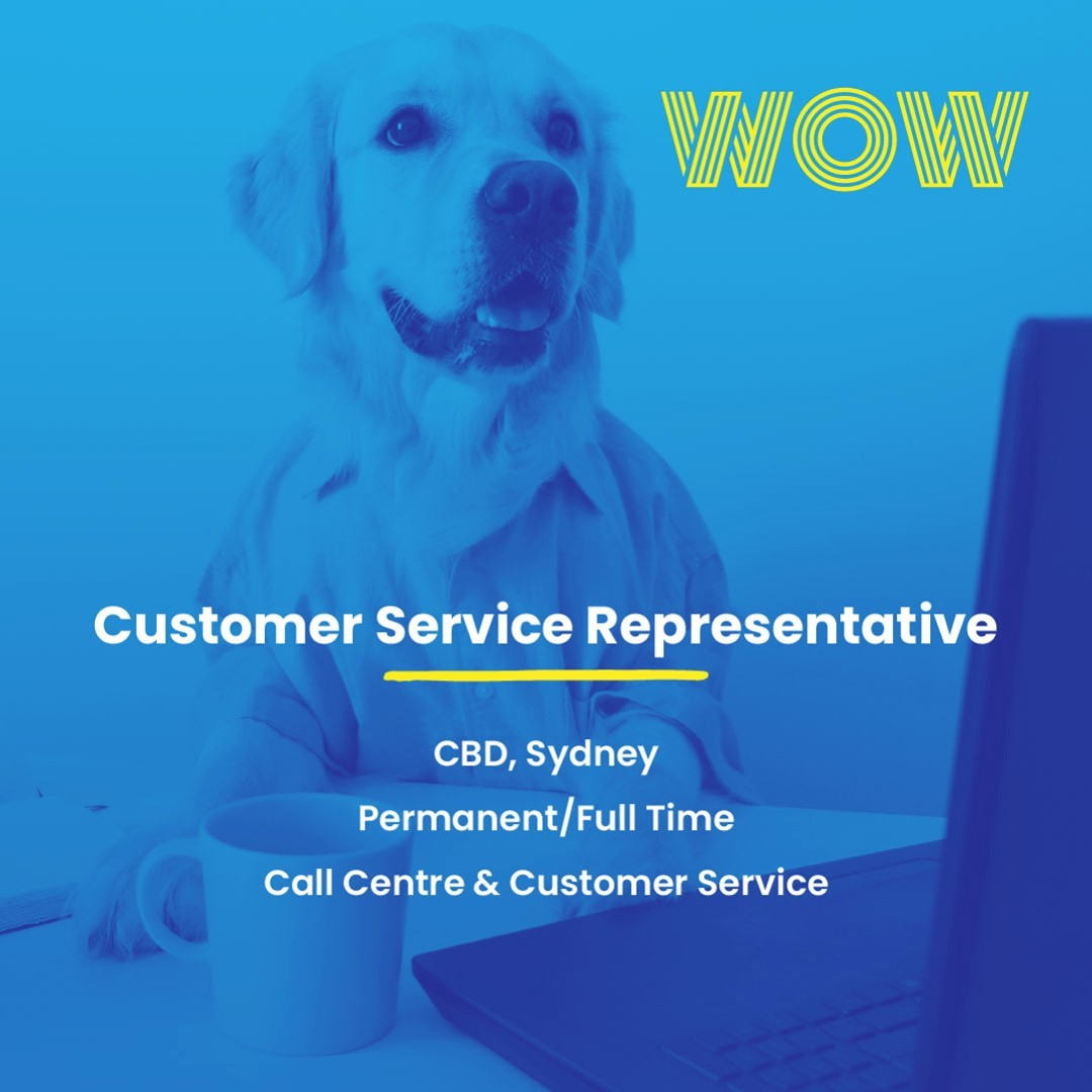 Fancy joining a flourishing fintech with genuine career progression opportunities? This permanent, CBD-based role could be just what you're looking for... https://wowrecruitment.com.au/job-detail/?id=1128687