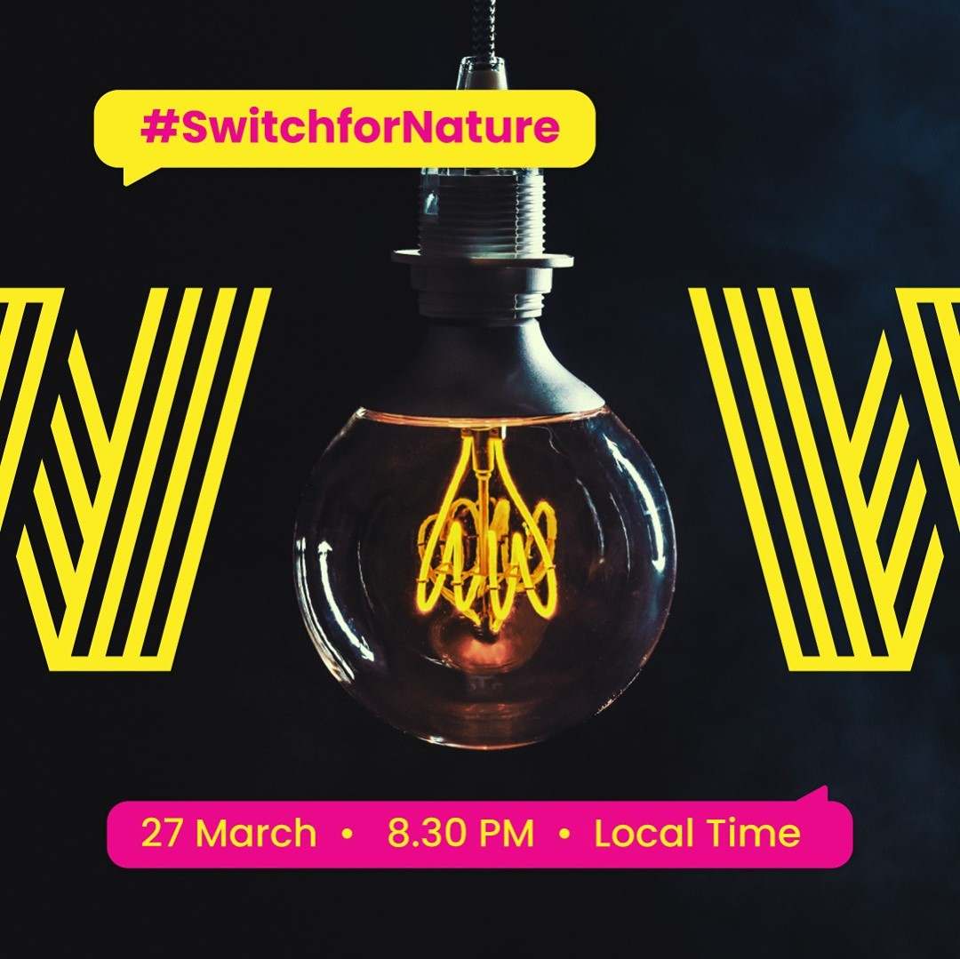 Be part of this global initiative against climate change and other environmental issues by turning off non-essential lights at 8:30 pm tomorrow night!  #EarthHour2021 #RecruitmentHappy