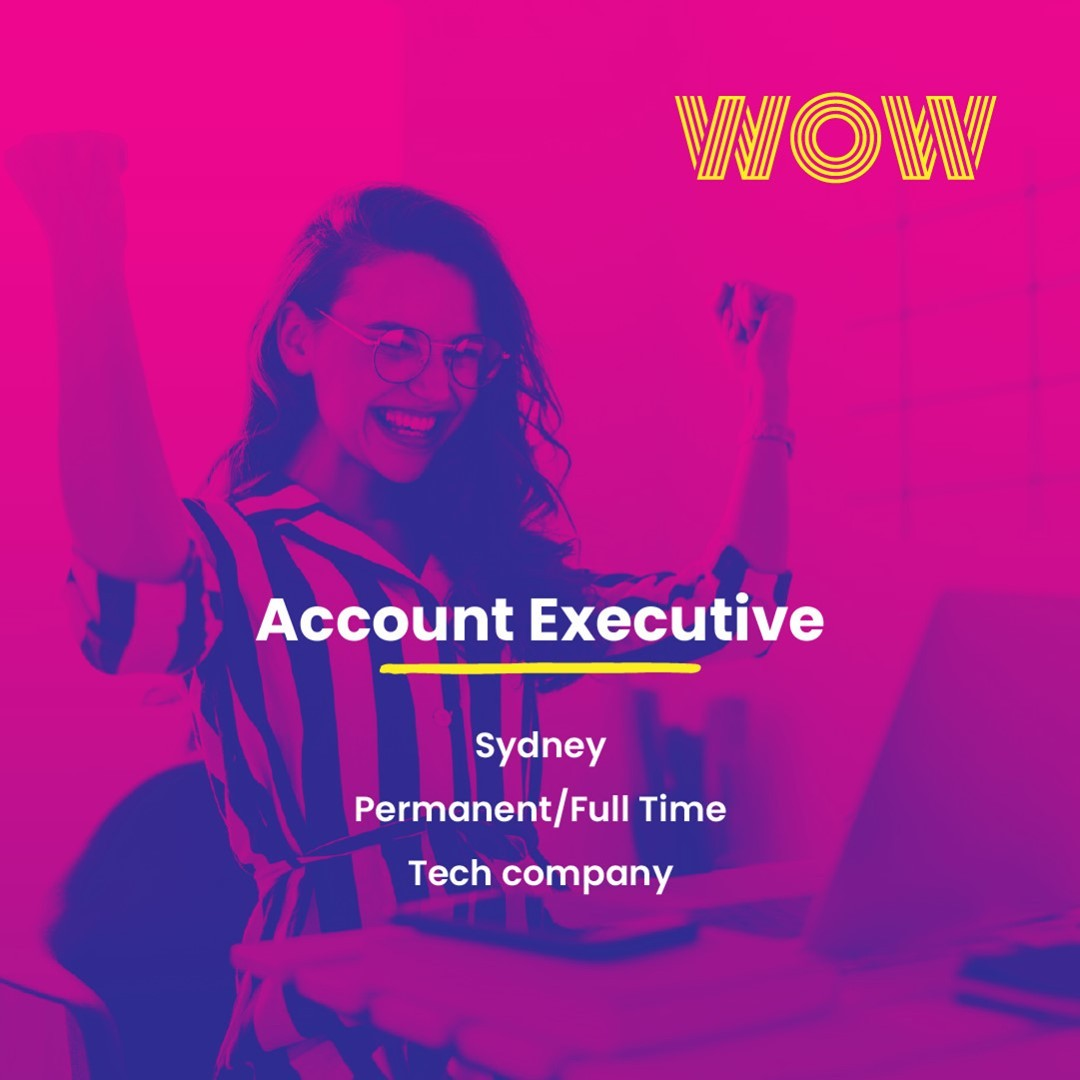 Work with an impressive C-Suite clientele from the largest 300 companies in Australia in this unique permanent role. An attractive salary plus uncapped commission and share options with plenty of room for career growth await.Need to know more? Click here https://wowrecruitment.com.au/job-detail/?id=1132117#RecruitmentHappy #WorkHappy #SalesJobs