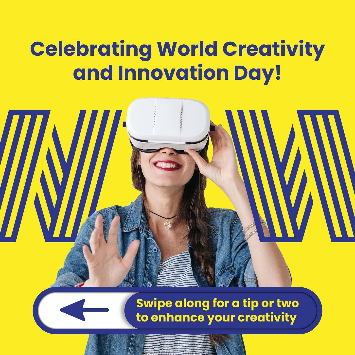 Happy World Creativity and Innovation Day!Take chancesDare to failBe inspired and inspiring. Today seems like a pretty good day to start. Take a chance on that new role, here. https://wowrecruitment.com.au/contact-us-2/#RecruitmentHappy