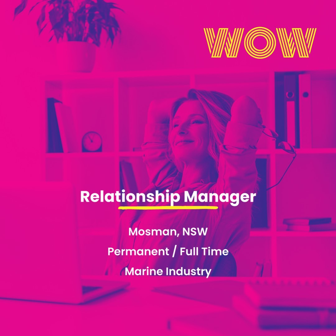 This is a unique opportunity to play a vital role in driving the success of a market-leading company in the marine and boating industry. Thrive within a vibrant team culture and enjoy a fantastic office location by the water. Two vacancies are available, get in touch ASAP via the link below https://wowrecruitment.com.au/job-detail/?id=1146565#WorkHappy #RecruitmentHappy #SalesJobs