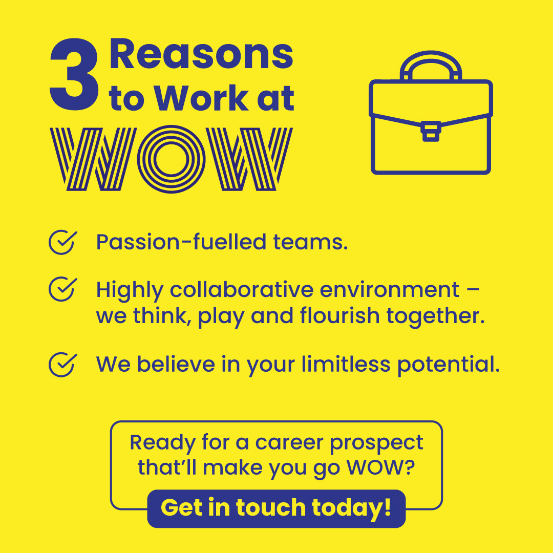 As serious about your success as you are. When you're ready, click here  https://wowrecruitment.com.au/work-at-wow #Wecruitment #RecruitmentHappy #WOWzers