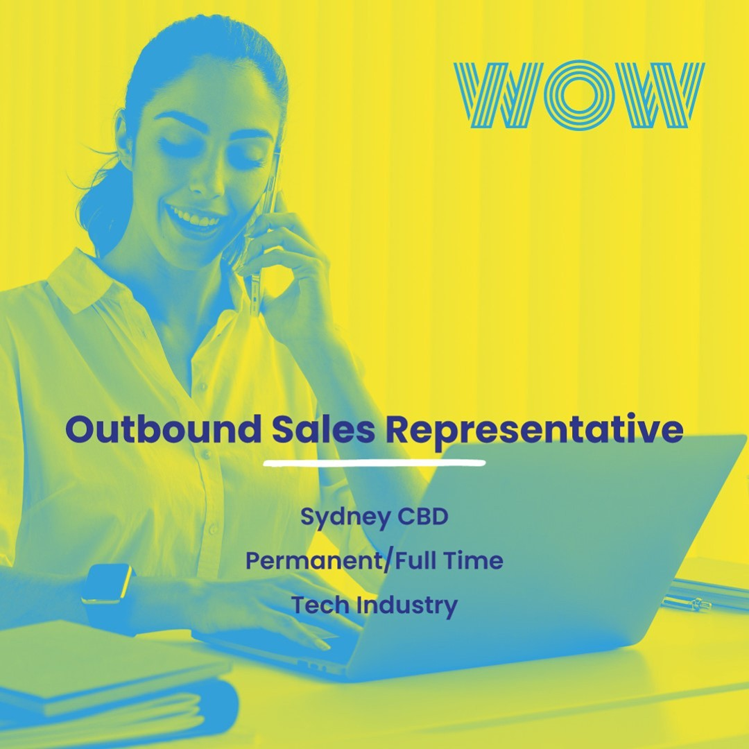 Play a vital role in accelerating the growth of a Sydney-based technology organisation. This permanent role comes with great social team culture and an exciting commission structure. To start immediately, click here  https://wowrecruitment.com.au/job-detail/?id=1159695#WorkHappy #RecruitmentHappy #SalesJobs