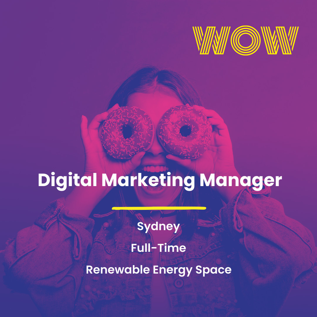 Join a disruptive and growing tech start up in the renewable energy space to help build an industry leading brand! You'll work with an aligned senior management team whilst being part of a company that is making genuine positive environmental impacts. Interested? Link in bio 🏻#WorkHappy #MarketingJobs