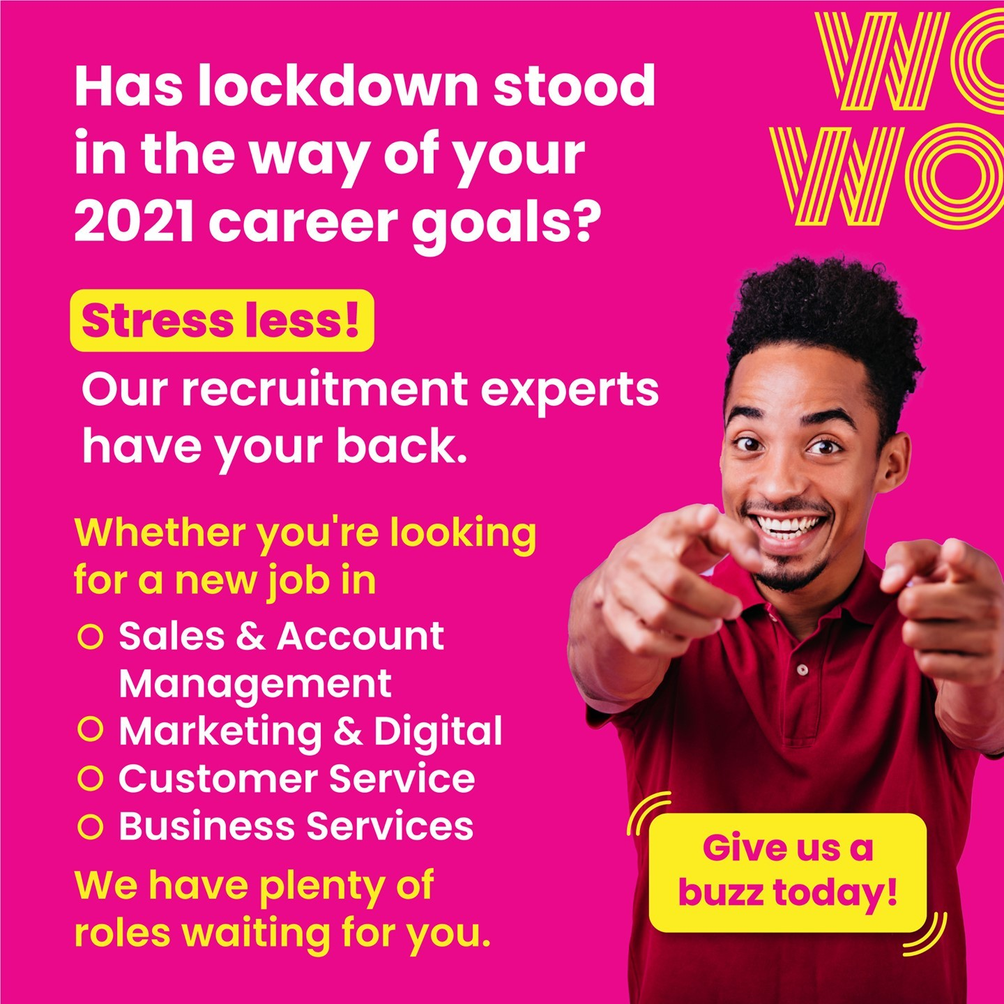 It isn't stopping us from recruiting, so why should it stop you from growing? Get in touch with the team today. Link in bio #WorkHappy #Wecruitment #DoWhatYouLove #AustraliaJobs
