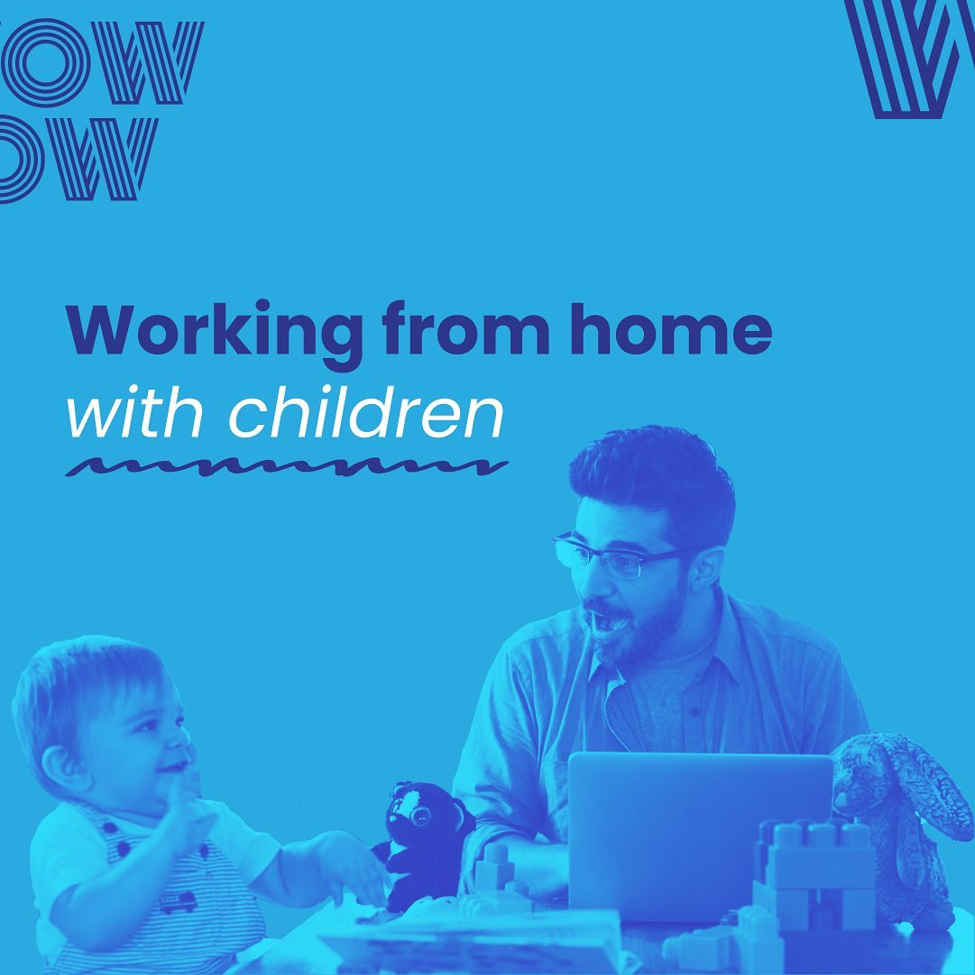 They may be an endless source of joy, but shaping your schedule to match their's isn't always easy...  Swipe through for your WFH with children 'how to' guide#WorkHappy #WFH #DoWhatYouLove