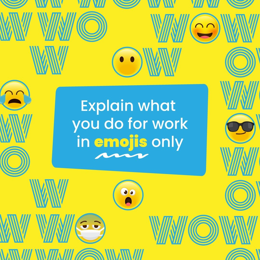 Give it a shot in the comments! #DoWhatYouLove #WorkHappy #MondayMotivation