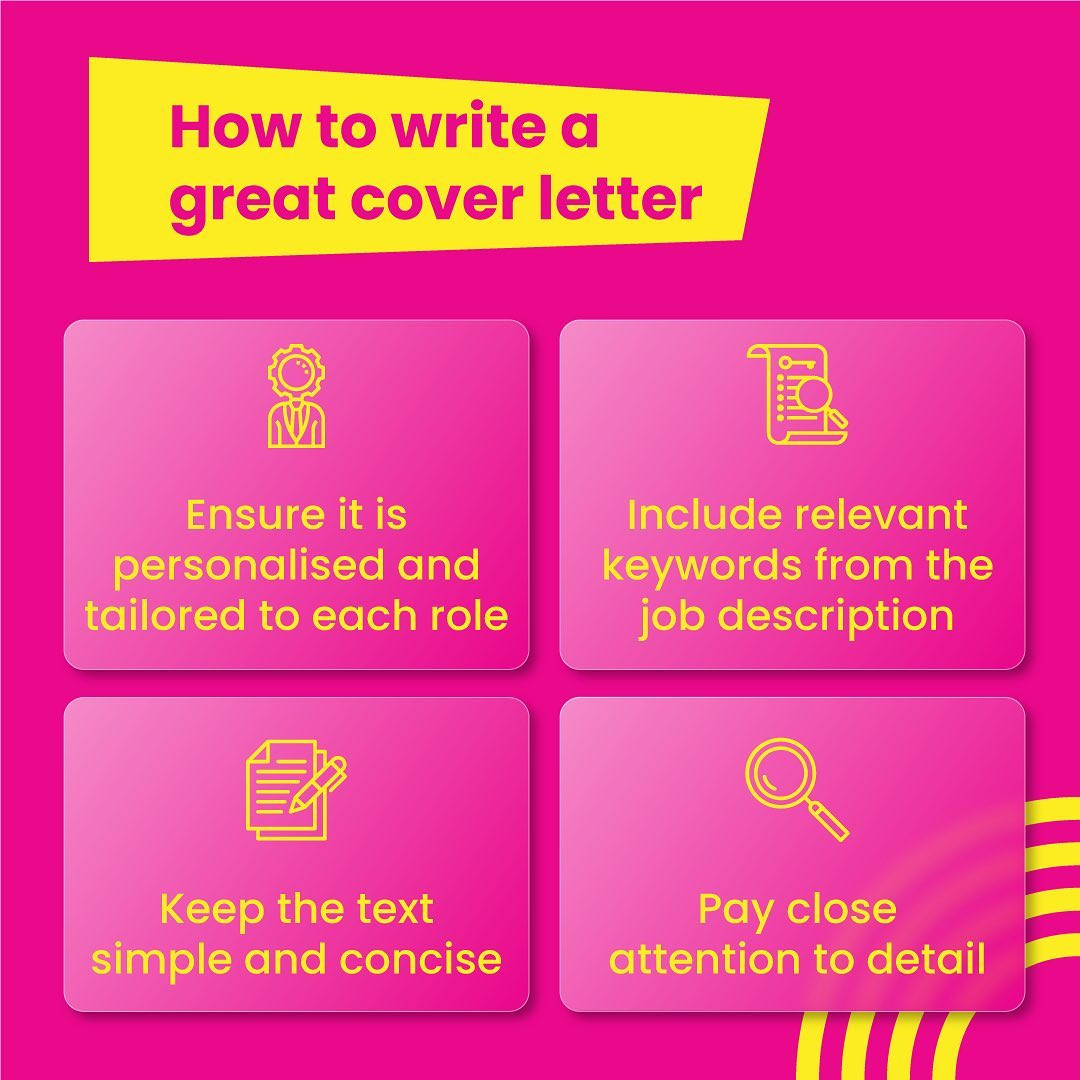 Candidates with cover letters get hired. Fact. Make yours memorable with this WOW-approved cover letter writing checklist. #workhappy #dowhatyoulove #recruitmenthappy